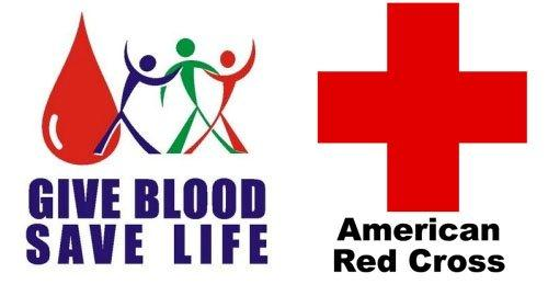 red cross blood drive banne