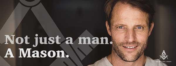 not just a man, a Mason