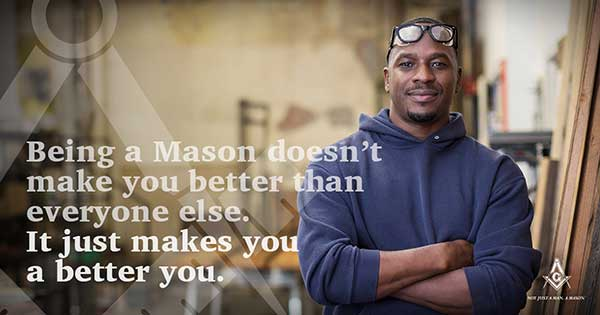 Being a Mason does't make